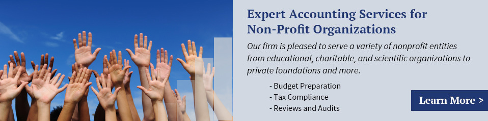 Expert Accounting Services for Non-Profit Organizations